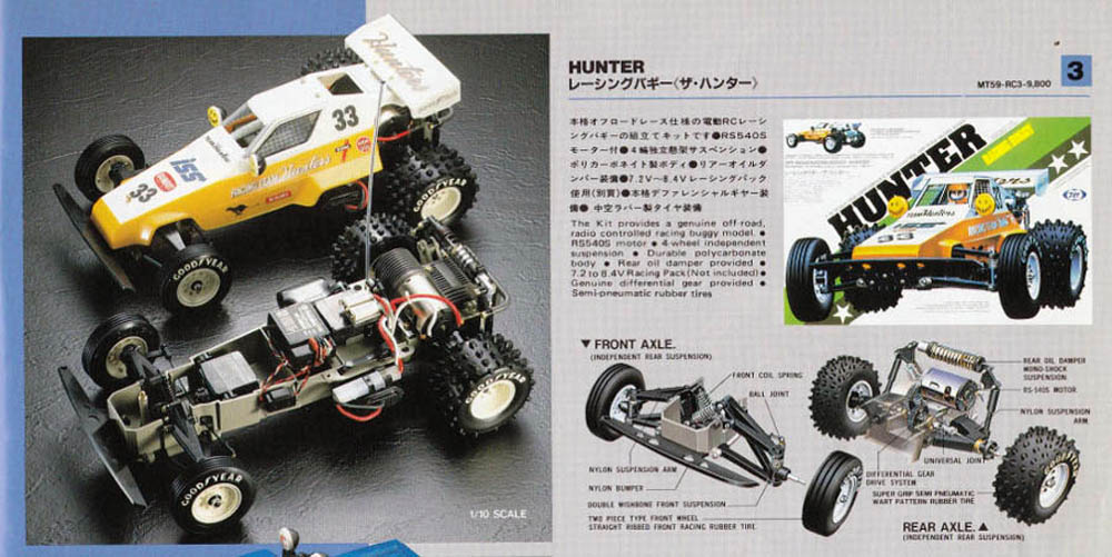 The RC cars of Tokyo Marui – Vintage Dirt-Burners