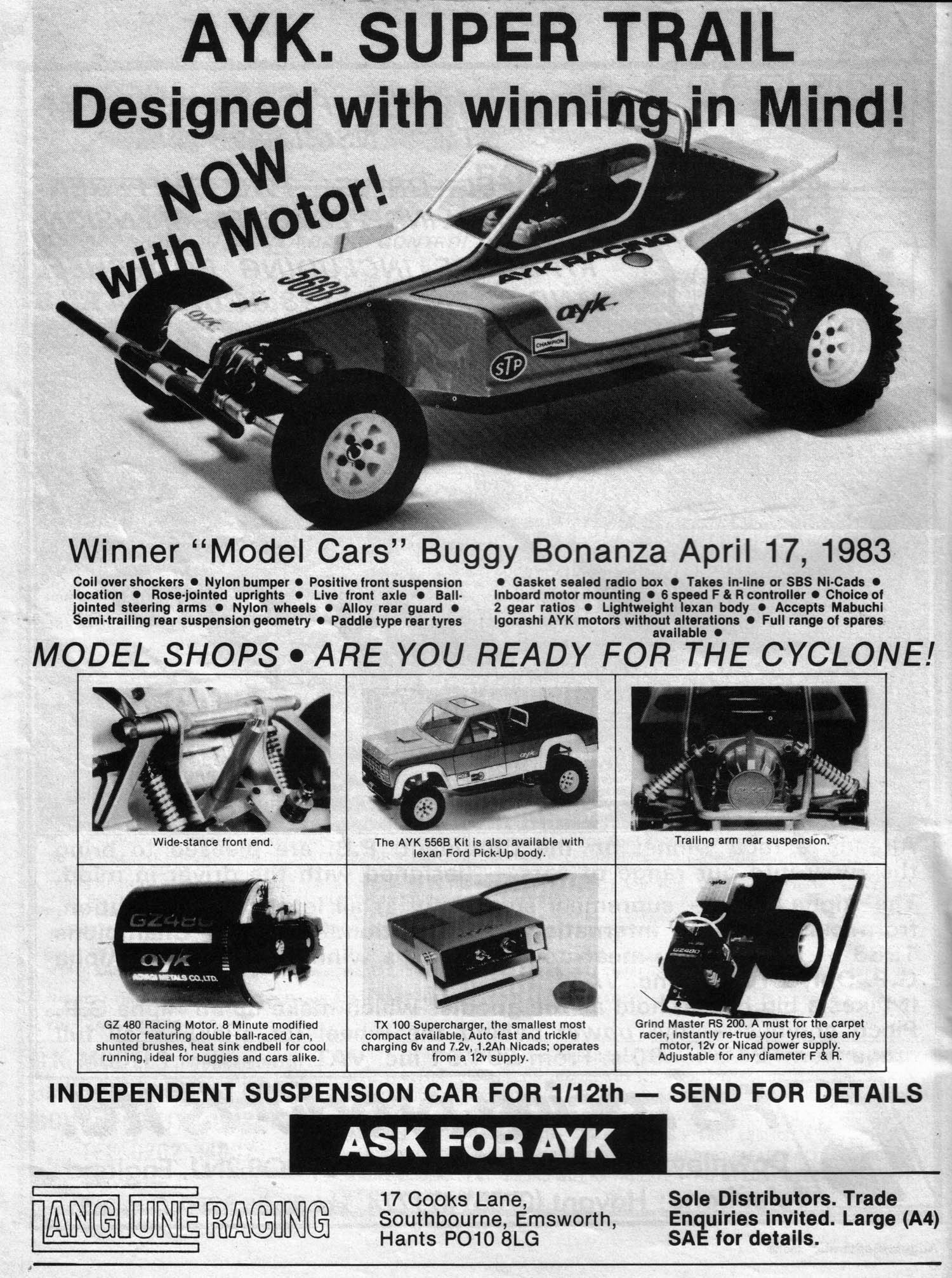 AYK off-road buggies (the early years 1981-1986) – Vintage